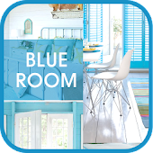 Blue room go launcher theme