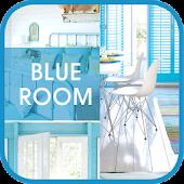 Blue room go launcher theme