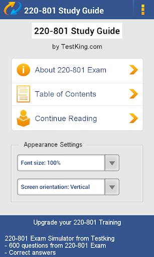 A+ 220-801 Study Guide