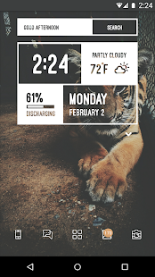 Zooper Widget Screenshot 4