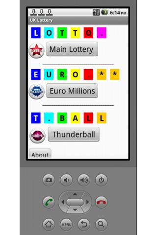 UKLottery - screenshot