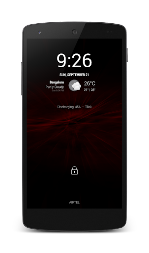 Bright Red Theme CM11.0 Theme