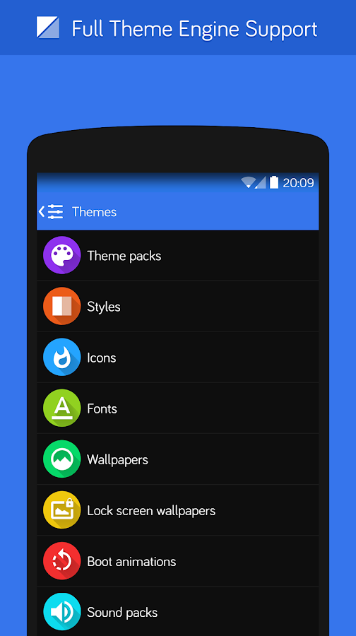 Flux - CM11 Theme - screenshot