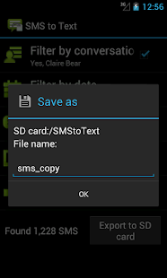 SMS to Text - screenshot thumbnail