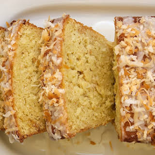 Coconut Buttermilk Pound Cake.