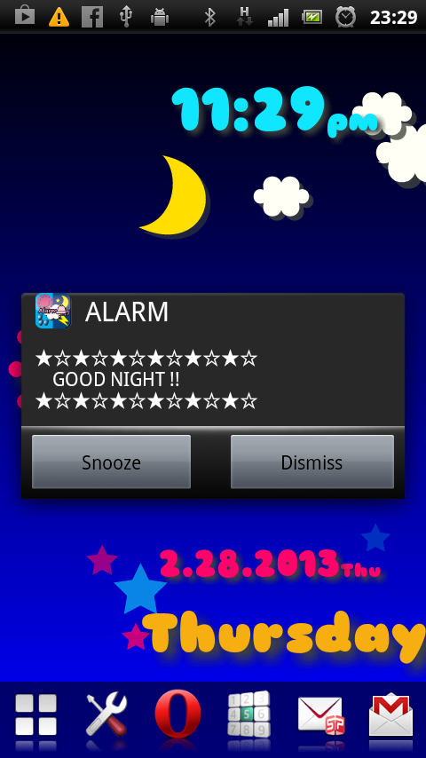 Weather Flow! Alarm LWP!- screenshot
