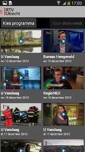 RTV Utrecht - screenshot thumbnail
