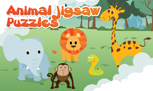 Kids Animal Jigsaw Puzzle