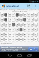 Screenshot of Loteria do Brasil