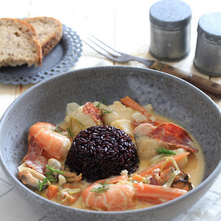 Sea Stew with Chorizo  Recipe