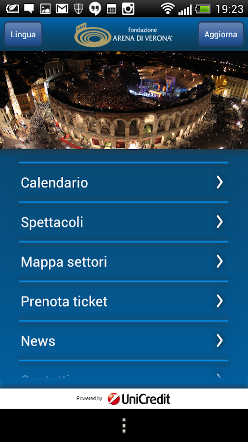 Arena di Verona - screenshot