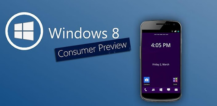 Windows 8 Go Launcher EX Theme apk