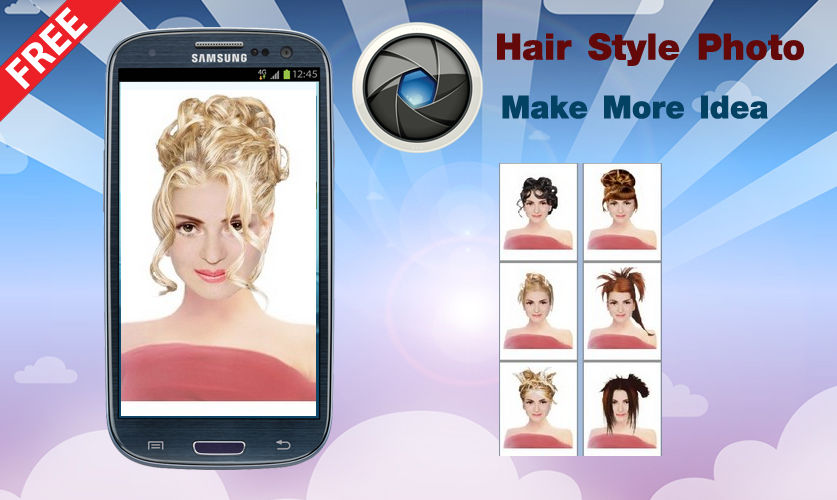 Admirable Changing Hairstyle Photo Android Apps On Google Play Short Hairstyles Gunalazisus