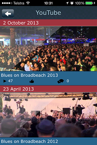 Blues On Broadbeach - screenshot