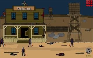 Screenshot of Shooting Sheriff's Gun
