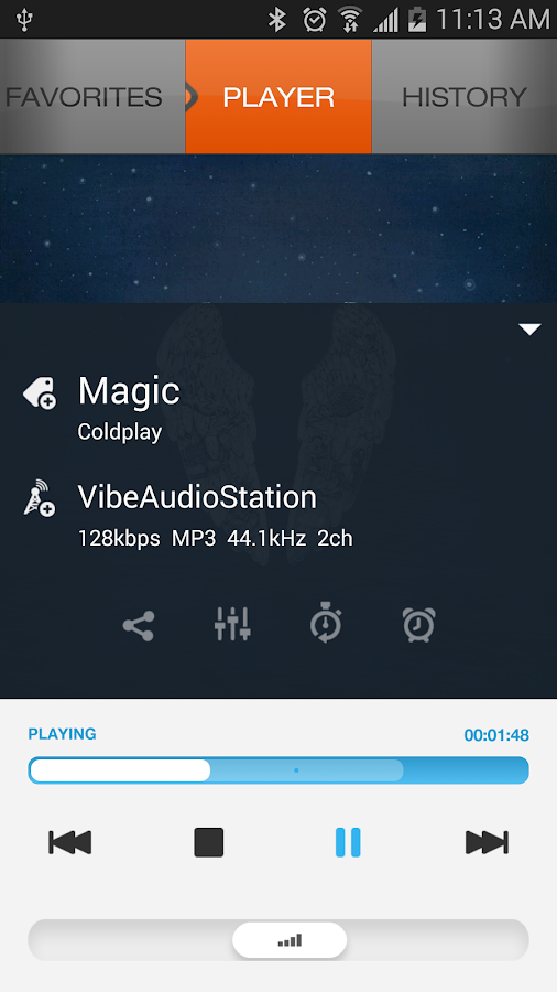 XiiaLive™ - Internet Radio - screenshot