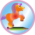 Cute pony icon