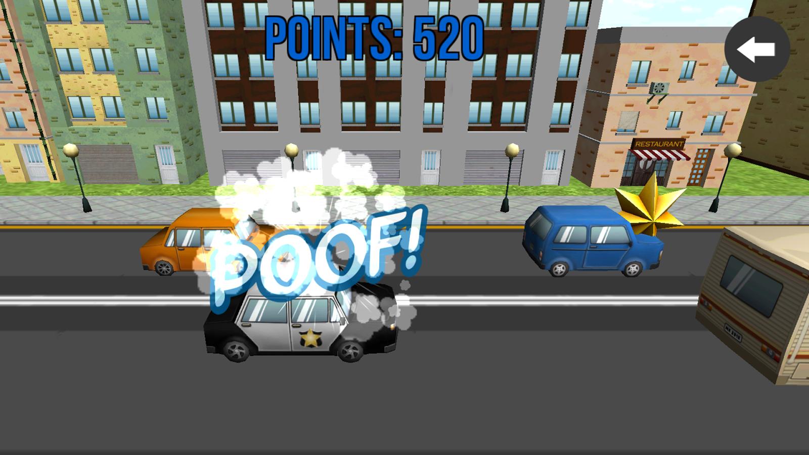kids police car screenshot