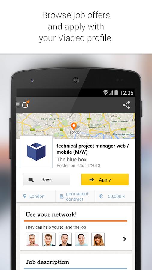 Viadeo - screenshot