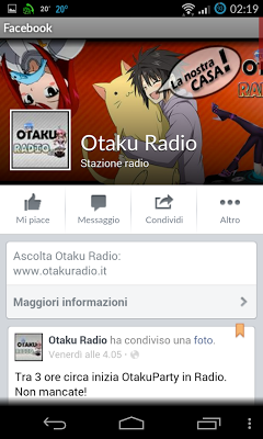 Otaku Radio - screenshot