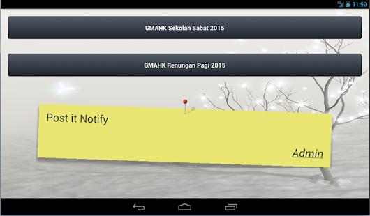 GMAHK - Sekolah Sabat - screenshot thumbnail