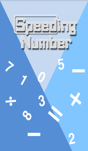 Number Game Speeding Number