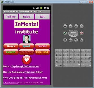 News Relax InMental- screenshot thumbnail