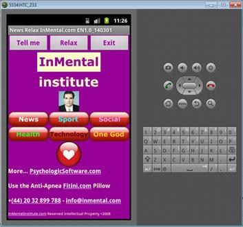 News Relax InMental- screenshot