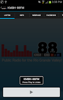 Screenshot of RGV Public Radio 88FM