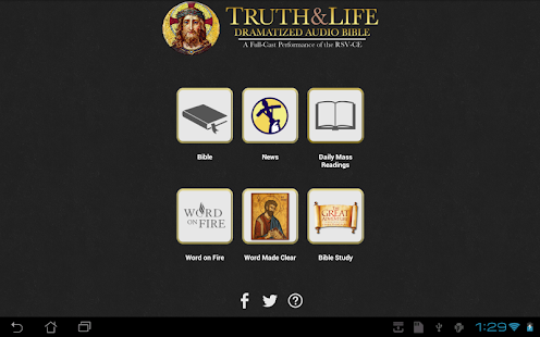 Truth & Life RSV-CE Bible - screenshot thumbnail