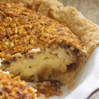 Pecan Cheesecake Pie.