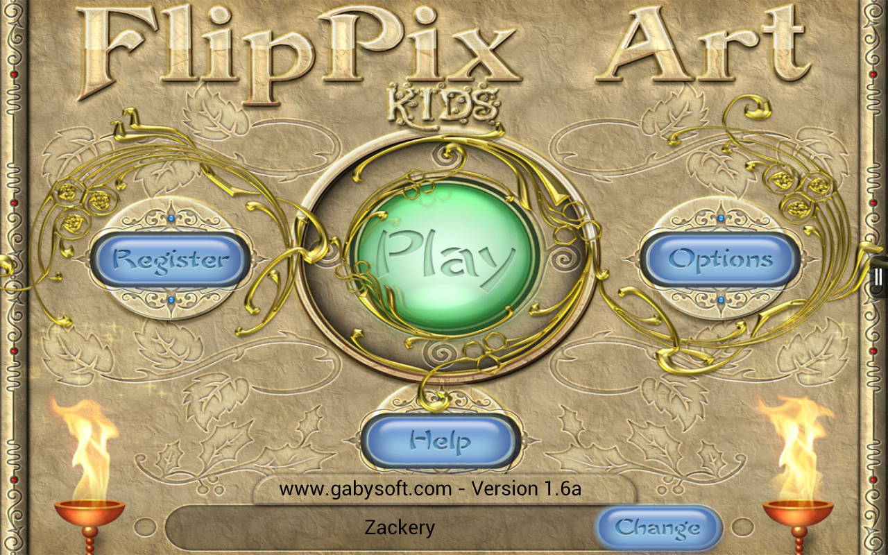 FlipPix Art - Kids- screenshot