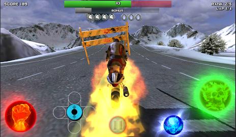 Race Stunt Fight 3!    ★FREE★ Screenshot 3