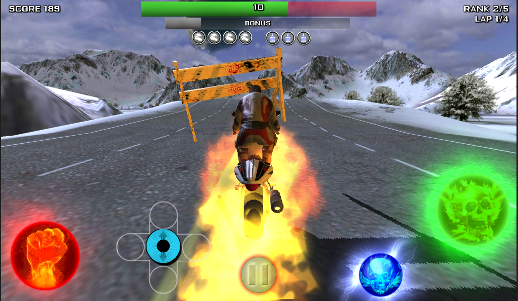 Race Stunt Fight 3!    ★FREE★ - screenshot