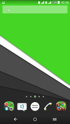Xp Theme: Green Lollipop 5.0