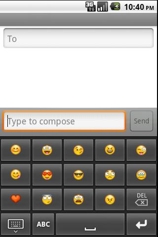 Abkhazian keyboard- screenshot