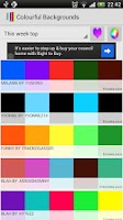 Screenshot of Colorful Backgrounds - Colors