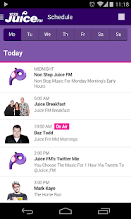 Juice FM Radio, Liverpool - screenshot thumbnail
