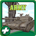 army parking simulation 3d icon