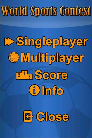 World Sports Quiz Demo