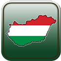 Map of Hungary icon