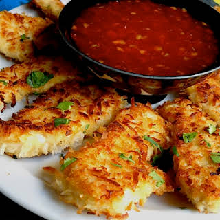Coconut Chicken W/ Sweet Chili Dipping Sauce.