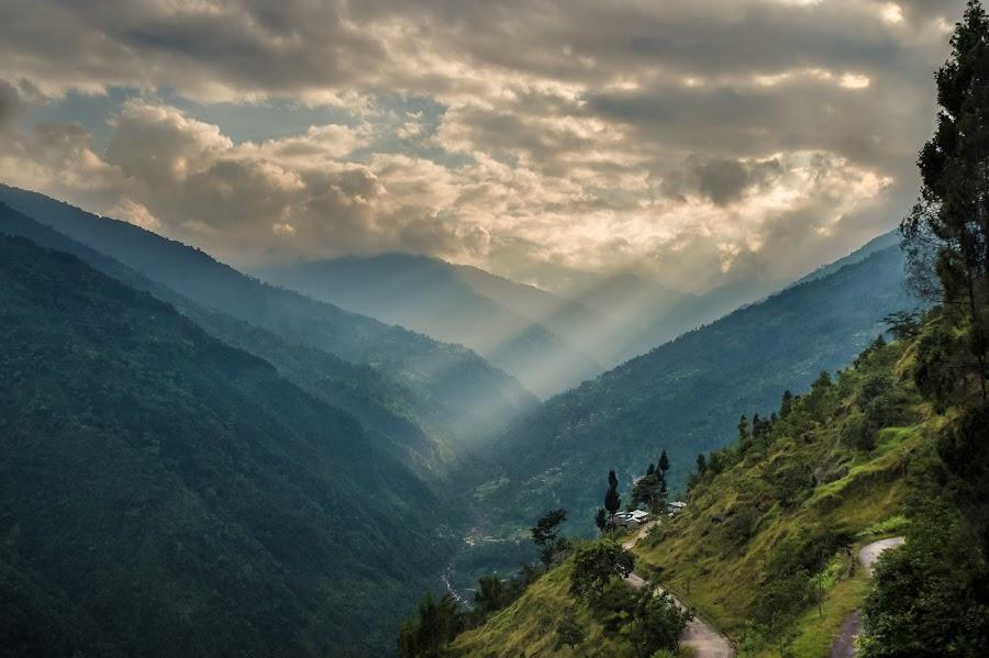 by Soumin Saha - Uncategorized All Uncategorized ( clouds, hills, mountains, landscape )