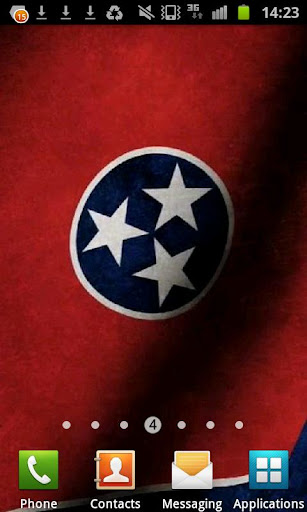Tennessee Flag Live Wallpaper