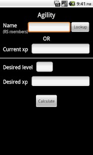 Runescape Calculator- screenshot thumbnail