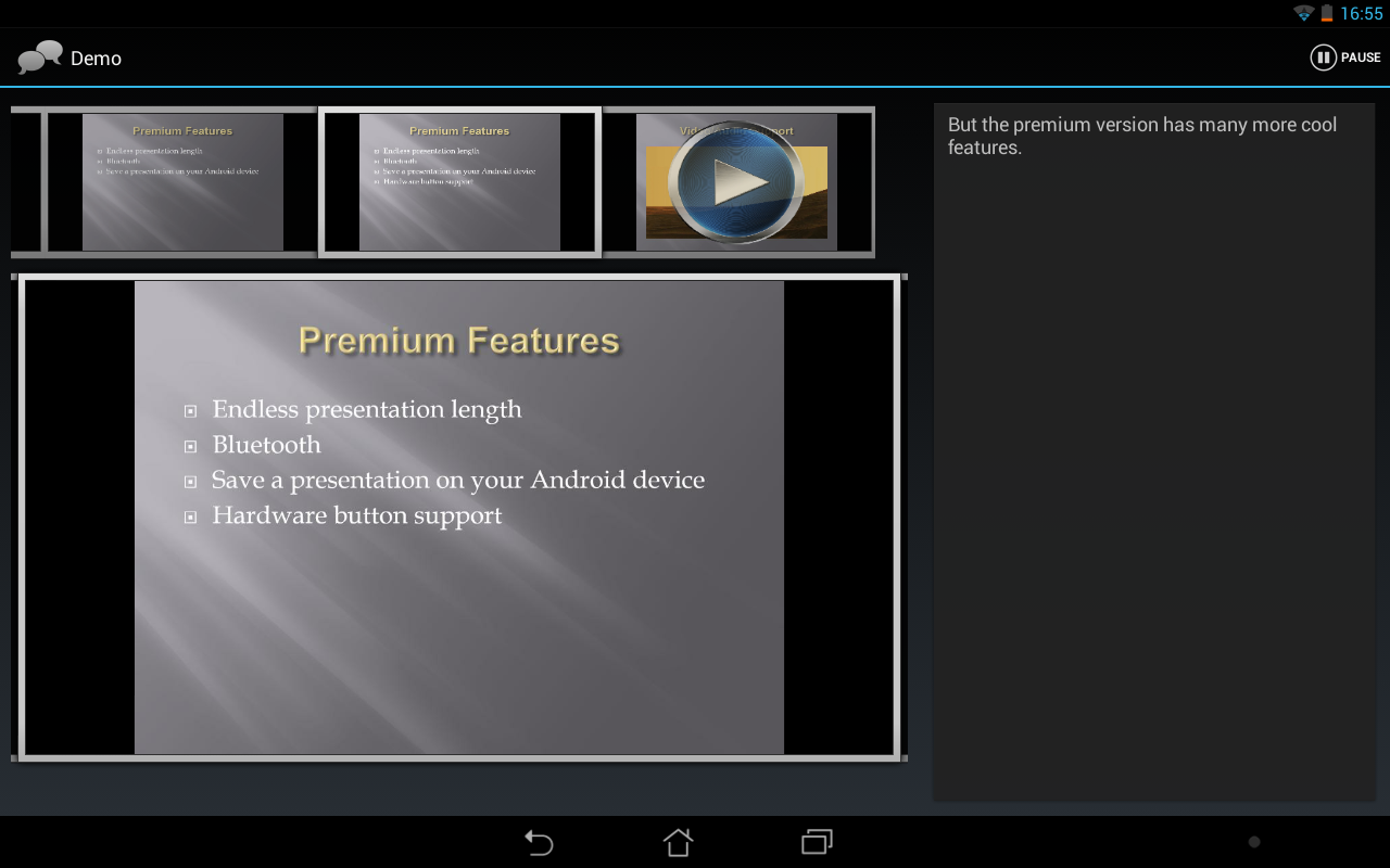 Remote Presenter- screenshot