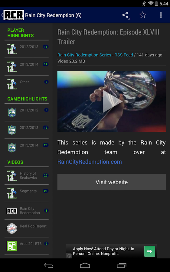 United Hawk Nation - screenshot
