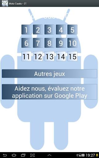 解謎必備APP下載|Mots casés Gratuits 01 好玩app不花錢|綠色工廠好玩App