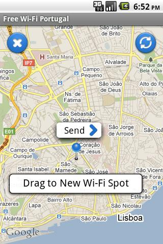 Free Wi-Fi Portugal - screenshot