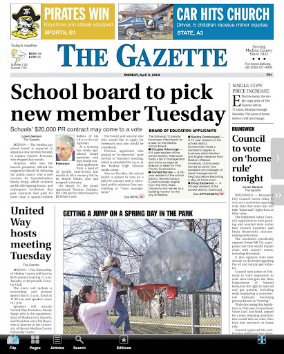 Medina Gazette E-edition